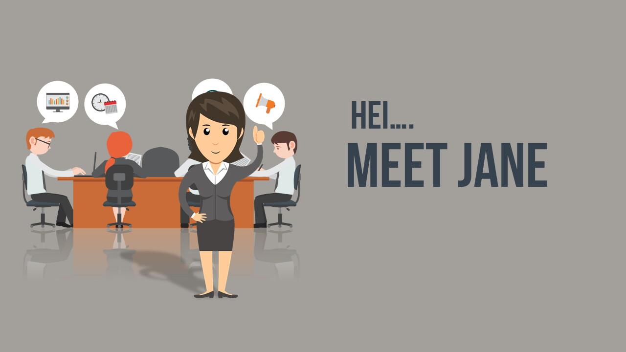 animated-powerpoint-businessgirl-Slide1