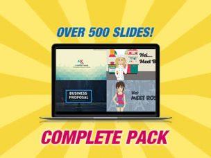 Businessman 2 animated powerpoint template riverduo complete powerpoint template pack toneelgroepblik Gallery