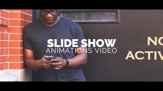 Slideshow PowerPoint Template009