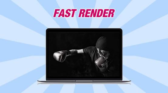 Fast Render Banner
