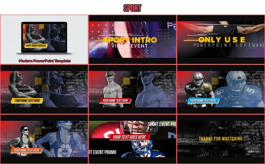 sport powerpoint template